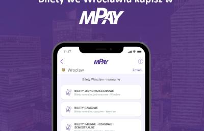 Kupowanie telefonem biletów MPK Wrocław