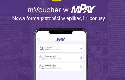 mVoucher już dostępny w aplikacji mPay