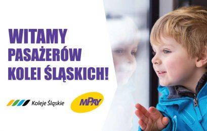 Bilety Kolei Śląskich dostępne w darmowej aplikacji mPay
