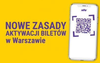 Warszawa zmienia zasady kupowania biletów