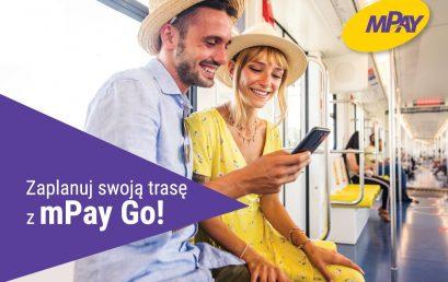 Wielofunkcyjna aplikacja z planerem podróży mPay GO!