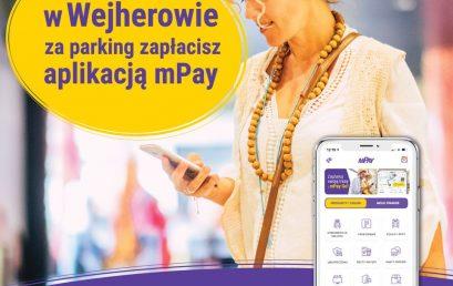 Świnoujście, Tarnobrzeg i Wejherowo parkują z mPay